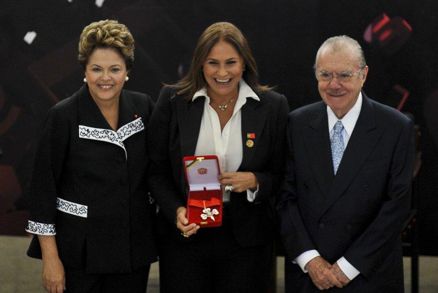 A cantora Fafá de Belém, considerada a musa das Diretas Já, fez neste ano, com a presidente Dilma Rousseff, sua última aparição ao lado de políticos. Mas também esteve com outros postulantes cotados na disputa à Presidência da República em 2014