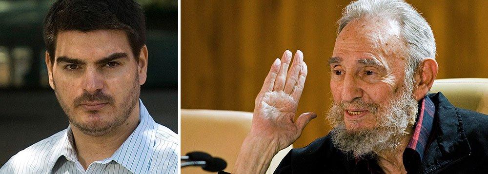 """O colunista Rodrigo Constantino, figura pitoresca da nova direita brasileira, decidiu dar crédito a acusações feitas por um ex-segurança de Fidel Castro; """"Fidel sempre disse que levava uma vida modesta, que tinha apenas uma """"cabana de pescador"""", e que sequer tirava férias, coisa de burguês. O que vem à tona é o esperado por qualquer um com bom senso: ele é o verdadeiro nababo do Caribe"""", diz ele"""