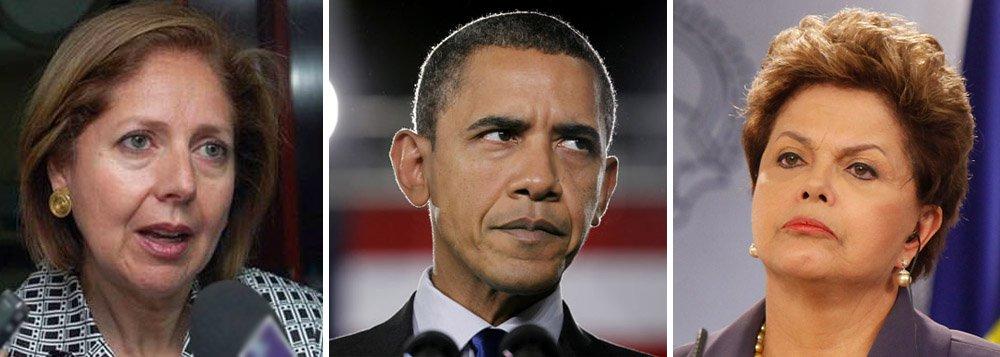 Diplomacia americana aumenta tensão com o Brasil; primeiro foi a nomeação, em junho, da embaixadora Liliana Ayalde; com a experiente executiva da Usaid em Brasília veio junto a lembrança do golpe parlamentar no Paraguai, em 2011, onde ela ocupava o mesmo posto; na semana passada, visita do secretário John Kerry reafirmou ciberespionagem sobre cidadãos; agora, Casa Branca é informada especialmente de detenção de brasileiro em Londres por governo inglês e não se explica; Barack Obama amplia rede de espionagem americana para se tornar o Grande Irmão; visita da presidente a Washington confirmada para outubro