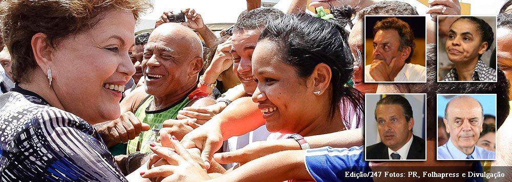 Ceará-Mirim - RN, 02/10/2013. Presidenta Dilma Rousseff durante a cerimônia de formatura de 4.500 alunos do Pronatec e de inauguração de três novos campus do IFRN: Ceará-Mirim, Canguaretama e São Paulo do Potengi. Foto: Roberto Stuckert Filho/PR