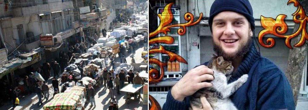 """O Departamento de Estado norte-americano confirmou que um cidadão dos Estados Unidos participou de um atentado suicida esta semana na Síria, apesar de não detalhar a sua origem; """"O cidadão norte-americano implicado no atentado suicida na Síria é Mohammad Abu Salha Moner"""", disse a porta-voz do departamento, Jen Psaki, em comunicado"""