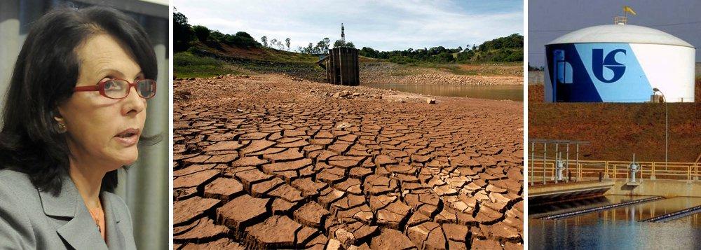 """Hoje, nível de água do Sistema Cantareira o é de 24,6%; projeções da Sabesp foram feitas por obrigação do comitê técnico que acompanha a crise no reservatório, utilizando projeções mais pessimistas, com base em cenário de chuva escassa até o final do ano; em nota, porém, empresa presidida por Dilma Pena informou que, considerando um cenário mais positivo para chuvas, o chamado 'volume morto' """"é suficiente para o abastecimento até março de 2015, no ponto alto do período das chuvas"""""""