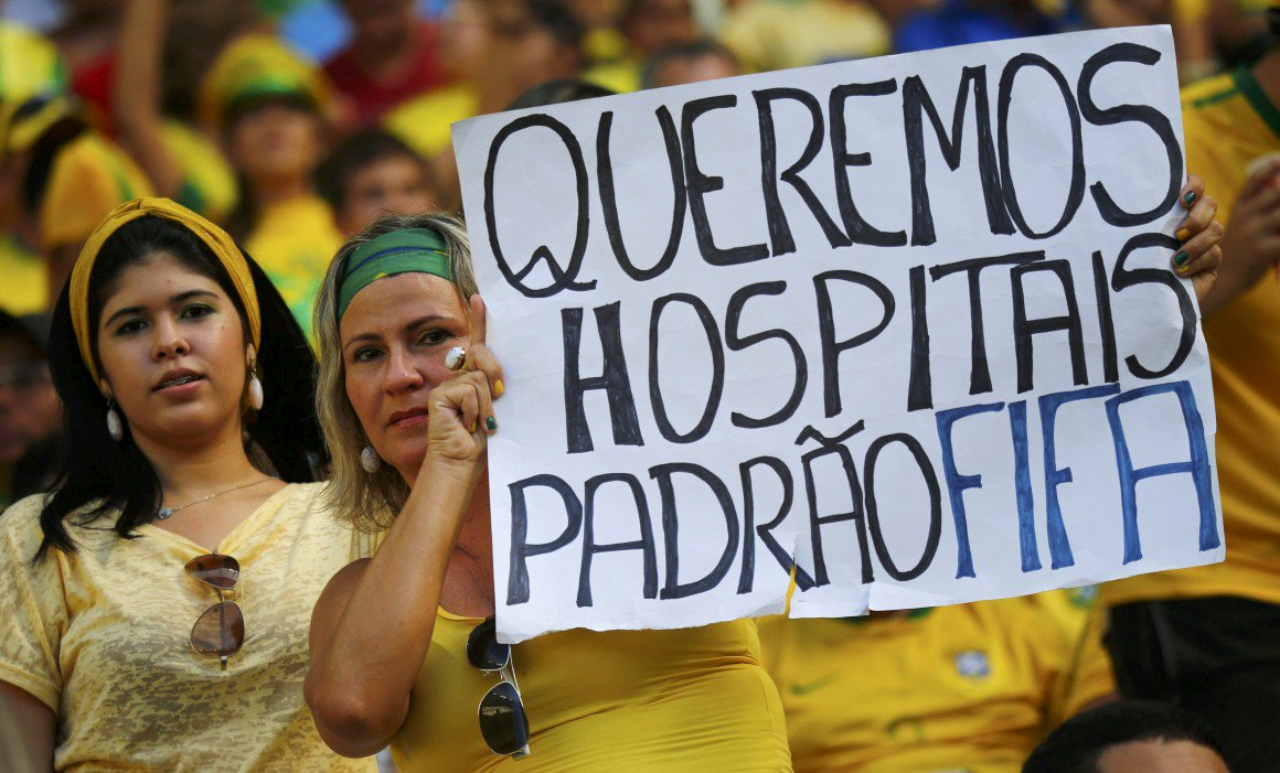 Em 2013, o brasileiro ocupou as ruas em uma reivindicação que começou por 20 centavos e virou grande luta por melhores serviços públicos. A mobilização mexeu com parlamentares, com a Presidência e ecoou na imprensa internacional