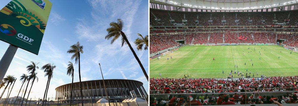 Os mais de 19 mil torcedores que viram o empate entre Flamengo e Goiás levaram o Estádio Nacional Mané Garrincha a um novo recorde: em menos de um ano, a arena recebeu mais espectadores do que em 36 anos do estádio antigo; desde a inauguração, em maio de 2013, 686 mil pessoas estiveram no palco de sete jogos da Copa do Mundo