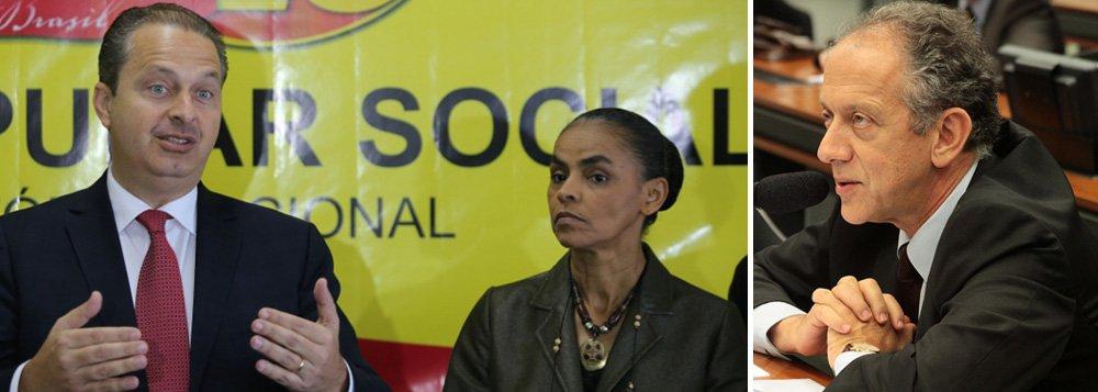 """A união entre o PSB e a Rede Sustentabilidade rachou em São Paulo. A questão sobre o apoio dos socialistas na reeleição do governador Geraldo Alckmin (PSDB) tem causado cizânias dentro do partido; enquanto o PSB defende o apoio ao tucano, membros da Rede rejeitam a ideia e afirmam que uma junção com Alckmin contraria o discurso de """"construção de uma nova política"""" feito pelo ex-governador de Pernambuco e presidenciável pelo PSB, Eduardo Campos;""""O PSB de São Paulo está dando uma chave de braço no seu candidato"""", afirmou o porta-voz nacional da Rede Sustentabilidade, deputado federal Walter Feldman (PSB-SP)"""