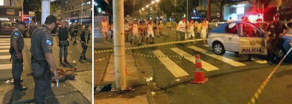 A Polícia Civil informou ainda que, de acordo com a 12ª Delegacia Policial, em Copacabana, as armas apreendidas dos oito policiais foram encaminhadas para a perícia. Também foi solicitada as imagens de câmeras de segurança instaladas na região para ajudar nas investigações