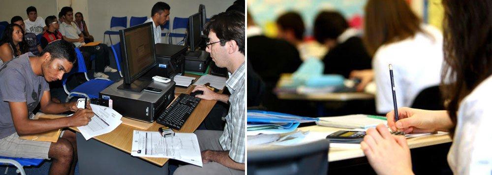 Inscrição por vaga de ensino superior em instituições públicas já está aberta no Sistema de Seleção Unificada; exclusivamente pela internet, até o dia 10; podem concorrer quem fez o Exame Nacional do Ensino Médio (Enem) de 2013 e não tirou nota zero na redação