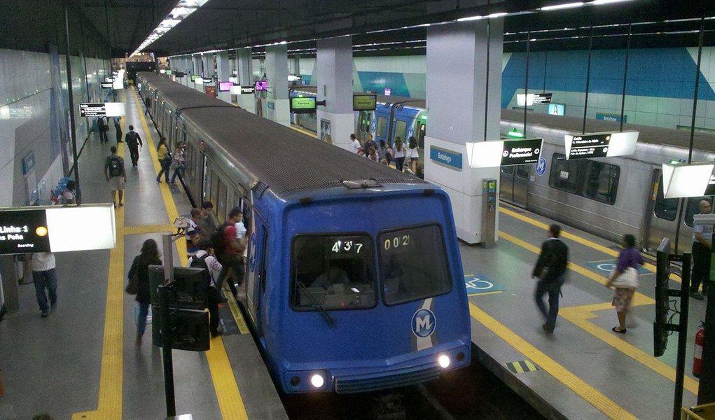 A Agência Reguladora de Transportes do Estado do Rio de Janeiro (Agetransp) divulgou nota autorizando o reajuste da tarifa para trens e metrô no Rio; a SuperVia vai reajustar a passagem em 5,60% e o Metrô Rio, em 5,66%