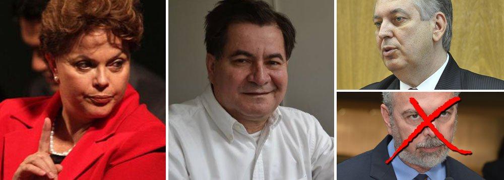 Dilma ficou irritadíssima ao ser pega de surpresa com a atuação de funcionários da embaixada do Brasil na Bolívia no embarque do senador Roger Pinto Molina, condenado a um ano de prisão por corrupção; ele estava abrigado na embaixada do Brasil havia 15 meses; sucessor é Luiz Alberto Figueiredo; o diplomata brasileiro Eduardo Saboia, que ajudou na fuga, também foi afastado do cargo