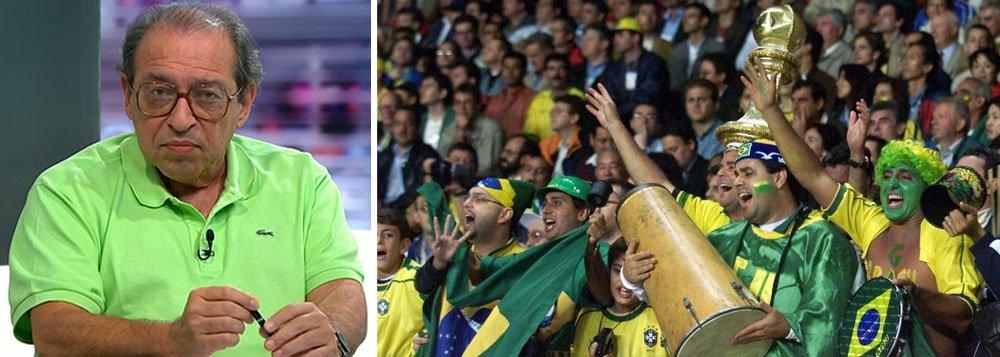 """Em programa da Sportv, canal fechado da Rede Globo, jornalista e escritor Ruy Castro menciona""""cobertura com enorme má vontade, o tempo inteiro, de uma exigência absurda, que acabou enfatizando o movimento 'Imagina na copa'""""; segundo ele, """"não se deu nem chance de que se pusesse as coisas em ordem"""""""