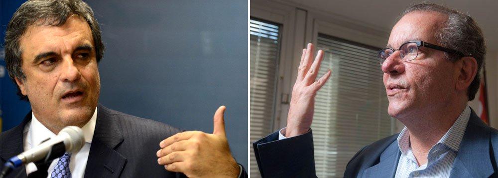 """Secretário de Energia de São Paulo diz não temer processo movido pelo ministro da Justiça e reafirma que Cardozo participou de operação para """"forjar"""" relatório encaminhado à Polícia Federal apontando o envolvimento de tucanos no escândalo do cartel do Metrô de São Paulo; ex-diretor da Siemens Everton Rheinheimer acusa três secretários de Alckmin – Edson Aparecido, Rodrigo Garcia e José Aníbal – de receber propina do esquema"""