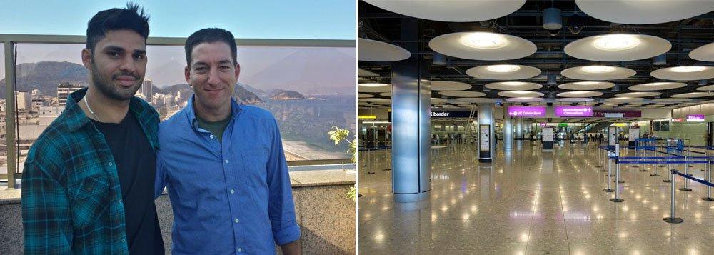 Detido no Aeroporto de Heathrow, David Michael Miranda é casado com Glenn Greenwald, repórter do jornal britânico The Guardian, que publicou informações sobre o esquema de espionagem denunciado por Edward Snowden, ex-funcionário de uma empresa terceirizada da Agência de Segurança Nacional norte-americana (NSA). ONG diz que medida é ilegal e indesculpável