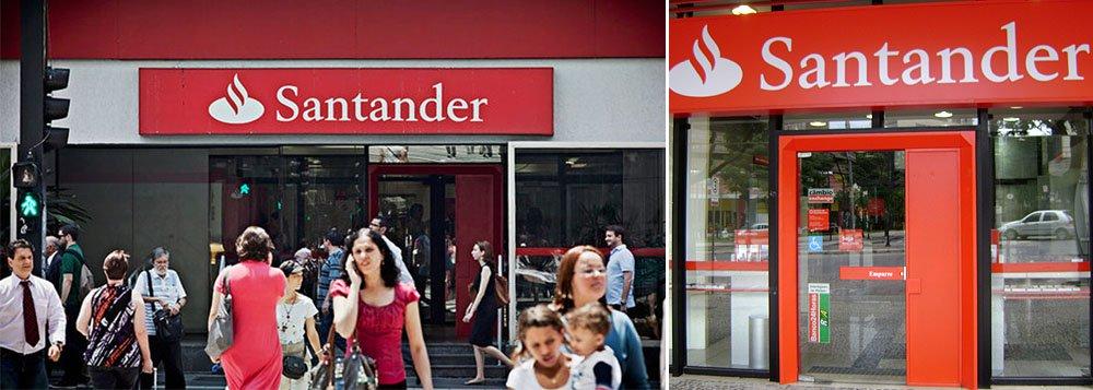 """Pelo sétimo mês consecutivo, banco espanhol lidera reclamações de clientes por maus serviços prestados; a despeito do slogan """"sua vez, sua voz, seu banco"""", clientes estão insatisfeitos e as reclamações se referem a débitos não autorizados e cobrança irregular de tarifas, entre outros problemas"""