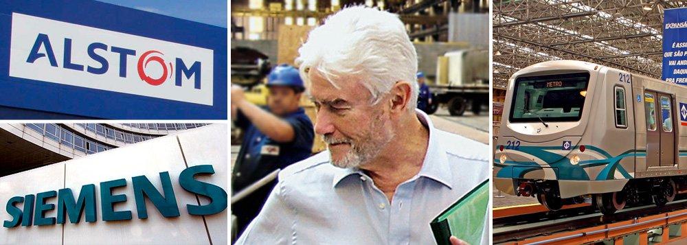 Em depoimento dado à Polícia Federal, o ex-executivo Ronaldo Cavalieri, que trabalhou na empresa alemã Siemens durante 30 anos, disse que autorizou pagamentos a duas empresas de consultoria - a Procint e a Constech - ligadas a Arthur Teixeira e a Sergio Teixeira - este último morreu há dois anos; as duas empresas sãoapontadas nas investigações como sendo empresas que recebiam o dinheiro de propina do cartel; Arthuré citado nas investigações sobre a formação de cartel em licitações do governo de São Paulo entre 1998 e 2008, durante as gestões dos tucanos Mario Covas, Geraldo Alckmin e José Serra