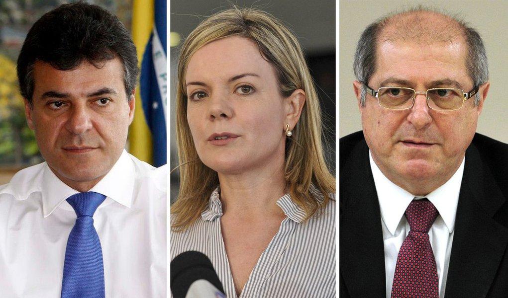 O governador do Paraná, Beto Richa (PSDB), patrocina o 1º Congresso Paranaense das Rádios Comunitárias, em Curitiba; o mote principal é o repúdio ao ministro das Comunicações, Paulo Bernardo, e à ministra-chefe da Casa Civil, Gleisi Hoffmann, pré-candidata ao Palácio Iguaçu em 2014