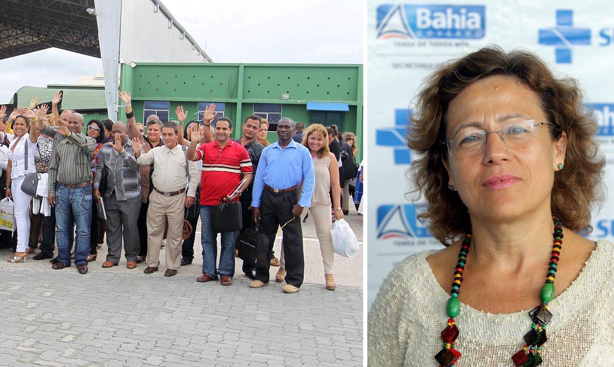 """Afirmação é da cubanaMariane Ramirez, que desembarcou em Salvador com seu esposo, Leonardo Pérez, e mais 275 estrangeiros para trabalhar pelo Mais Médicos; eles iniciaram ontem a semana deatividades pedagógicas do segundo ciclo do programa do governo federal; dos 277 estrangeiros que atuarão na Bahia, 270 são de Cuba; """"Onde houver uma pessoa precisando de assistência médica, lá deve ter um de nós"""", diz Mariene"""