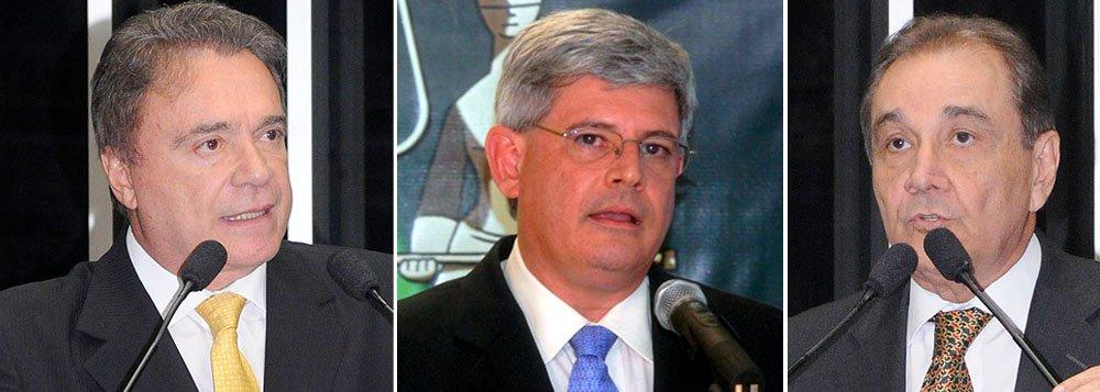 """Senadores Álvaro Dias (PSDB-PR) e José Agripino Maia (DEM-RN) disseram não ver problema para aprovação do nome em sabatina no Senado. Eles elogiaram a presidente por respeitar a """"hierarquia das preferências"""" ao escolher o primeiro colocado na votação interna do Ministério Público Federal"""