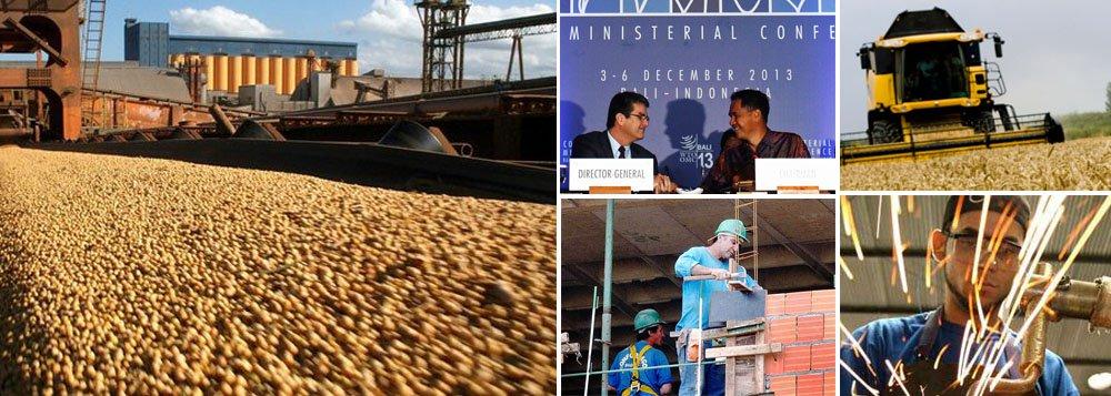 Relatório do britânico Centro de Pesquisas Econômicas e de Negócios (CEBR) vai contra a maré de análises pessimistas feitas por economistas e colunistas da imprensa brasileira; segundo o CEBR, o Brasil deverá superar economias desenvolvidas, como Alemanha e Reino Unido, dentro de dez anos; estimativa é de que o ganho da produtividade na agricultura e o resultado do acordo histórico conquistado na OMC, na Rodada de Doha, trarão grandes benefícios para os brasileiros; China se tornaria a primeira do mundo em 2028