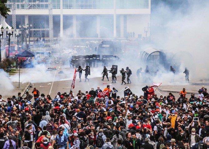 O PSDB se tornou um boneco de ventríloquo: aparelhado pelas forças sociais conservadoras, coloca a truculência policial ao dispor do reacionarismo