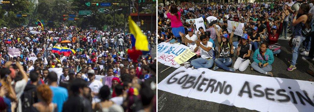 Ministros das Relações Exteriores do bloco reafirmaram a urgência para que o governo venezuelano e todas as forças políticas consigam um acordo que contribua para o entendimento e a paz social;comissão visa buscar mecanismos para restaurar a convivência pacífica na Venezuela, em meio à violência que sacudiu o país nas últimas semanas