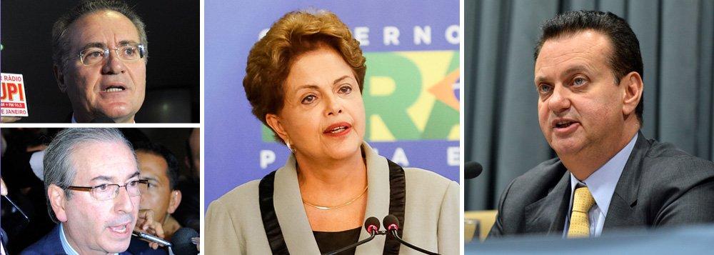 """A sanção feita somente ontem, pela presidente Dilma, da lei que determina uma quarentena para a fusão entre partidos, criada para dificultar a formação do Partido Liberal (PL) e sua fusão com o PSD, do ministro Gilberto Kassab, foi criticada pelos caciques do PMDB, que estudam entrar na Justiça e prometem retaliação contra o governo no Congresso; eles acusam Dilma de favorecer Kassab ao autorizar a vigência da lei um dia depois de o PL entrar no TSE com pedido de criação; Kassab nega que seja autor da criação do partido, diz que nada está sendo feito """"às escondidas"""" e defende entendimento com o PMDB; """"PSD e PMDB são partidos parceiros. Tenho respeito e amizade (pelo PMDB). E continuará sendo assim"""""""