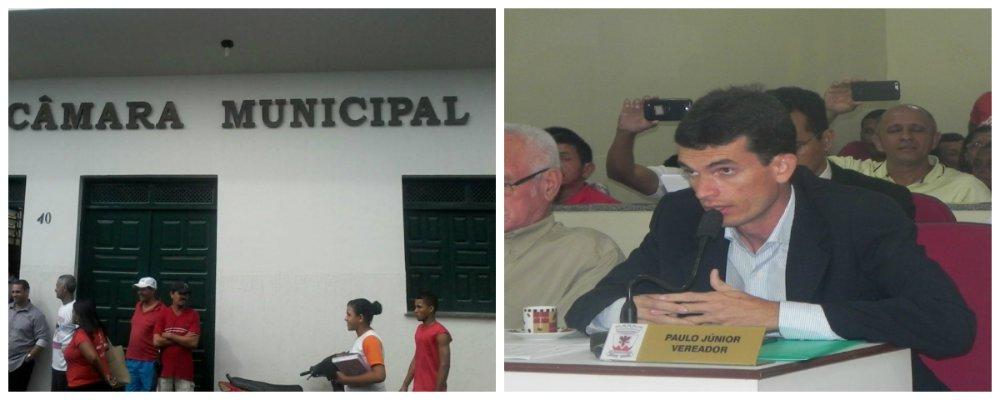 """Os primeiros depoimentos dos diretores das escolas do município de São Cristóvão à Comissão Parlamentar de Inquérito (CPI), que investiga irregularidades na licitação da alimentação escolar no município, confirmaram os problemas denunciados pela denúncia apresentada pela reportagem do SBT, exibida em maio último, em rede nacional; """"Constatamos aquilo que foi mostrado na TV: a falta de merenda em alguns dias da semana, principalmente nas escolas dos povoados, e o fornecimento apenas de achocolatado e rosquinhas"""", informou o vereador Paulo Júnior (PSL), que integra a CPI"""