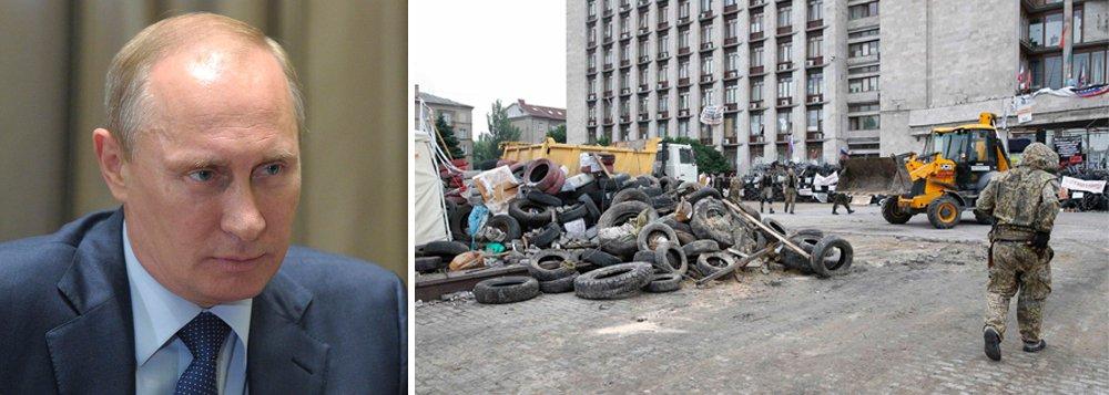 Governo do presidente Vladimir Putin vai apresentar nesta segunda-feira uma proposta de resolução ao Conselho de Segurança da ONU pedindo o imediato fim da violência que está se agravando na Ucrânia e a criação de corredores humanitários no leste do país