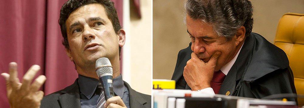 """""""A prisão preventiva talvez amenize consciências ante a morosidade da Justiça, dando-se uma esperança vã aos cidadãos, como se fosse panaceia perante esse mal maior que é a impunidade. A exceção virou regra, implementando-se, com automaticidade e, portanto, à margem da regência legal, esse ato de constrição maior que é a prisão"""", diz o ministro do Supremo Tribunal Federal Marco Aurélio Mello; ele critica, indiretamente, acondução da Lava Jato pelo juiz Sérgio Moro"""