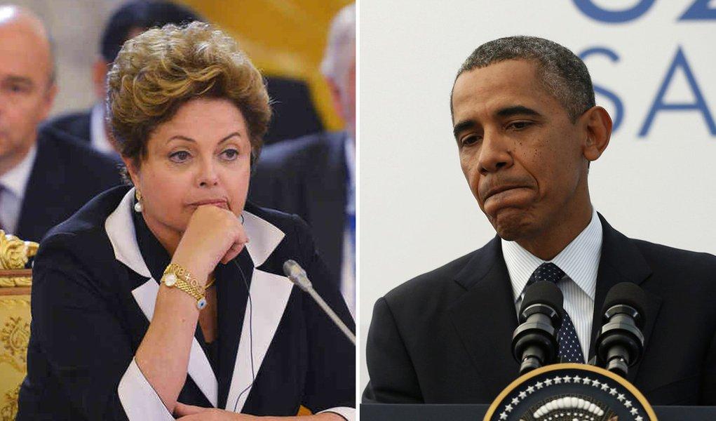 """Agora é oficial: presidente Dilma Rousseff cancelou a viagem de Estado que faria em outubro aos Estados Unidos; motivo é a espionagem do governo norte-americano sobre as comunicações do Palácio do Planalto e da Petrobras; """"fato grave"""", cravou nota oficial do Palácio do Planalto; na segunda-feira 16, Barack Obama conversou por telefone durante 20 minutos com a presidente, mas Dilma julgou que as respostas dadas às violações de sigilo não foram satisfatórias; em nota distribuída pela Casa Branca, americanos afirmam que os dois presidentes """"decidiram adiar"""" a visita; e que Obama """"compreende e lamenta"""" preocupação de Dilma com espionagem; dava para ser diferente?"""