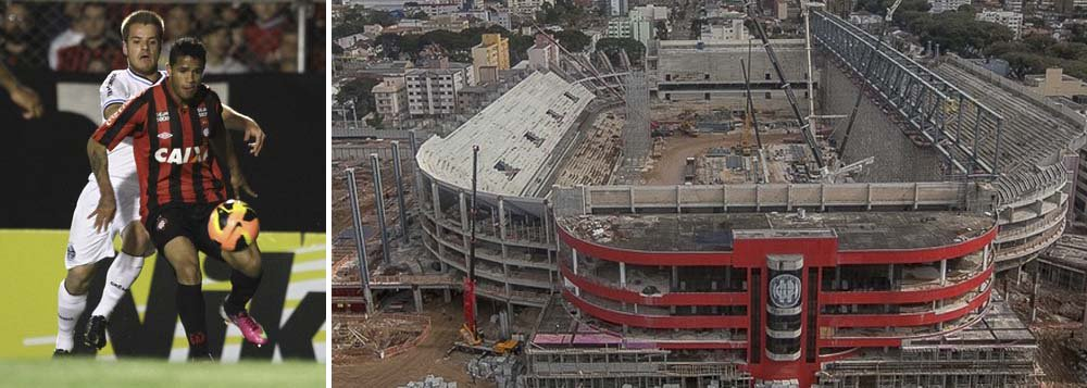 O Atlético Paranaense usou parte do dinheiro que deveria ser investido na reforma da Arena da Baixada na aquisição de 50% dos direitos econômicos do lateral-direito Léo; a CAP S/A, que é uma empresa constituída pelo clube com a finalidade de receber verba pública para a obra do estádio, transferiu R$ 1,5 milhão ao Vitória-BA; a transação ocorreu em 26 de dezembro de 2013