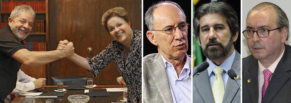 """Depois de se encontrar com a presidente Dilma Rousseff, a quem sugeriu que seja mais """"política"""" e adote a política do """"paz e amor"""" na relação com o PMDB, o ex-presidente Lula entrou em campo para apaziguar os ânimos e não colocar em risco a aliança com o principal partido do bloco governista; nesta quinta (6), ele telefonou para o presidente nacional em exercício do PMDB, senador Valdir Raupp, para pedir ajuda para que sejam pacificadas as relações entre os dois partidos"""