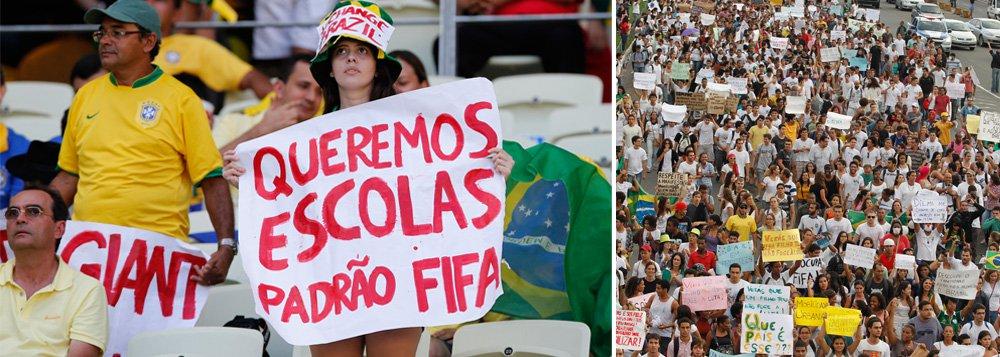 Ministro da Secretaria-Geral da Presidência, Gilberto Carvalho disse nesta sexta-feira que o governo vai trabalhar junto com os movimentos sociais nas cidades-sede da Copa do Mundo de 2014, para solucionar impasses que possam surgir em decorrência do evento