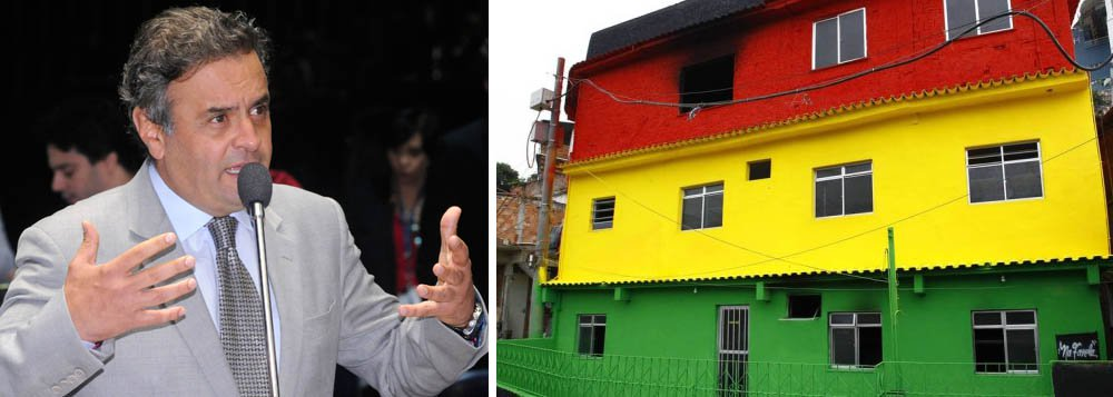 O senador Aécio Neves solicitou que o Senado Federal encaminhe ofício ao Ministério da Justiça para que o órgão possa atuar no sentido de garantir a segurança do grupo cultural AfroReggae; A ONG foi incendiada no dia 16 do mês passado e, curiosamente, os traficantes Fernandinho Beira-Mar e Marcinho VP teriam demonstrado, durante conversa realizada em maio no presídio de segurança máxima de Catanduvas (PR), a intenção de atacar José Júnior, coordenador da entidade