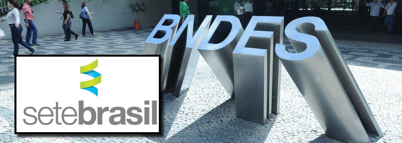 Empresa é vinculada à Petrobras e foi criada para viabilizar a construção de sondas para explorar a camada de pré-sal; a Sete Brasil enfrenta uma série de dificuldades financeiras e vem tentando renegociar as dívidas junto aos credores até conseguir o financiamento de US$ 9 bilhões do BNDES