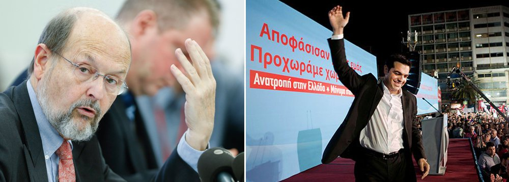 """A Grécia deve considerar que não há outro caminho senão a reforma, disse o membro do Conselho do Banco Central Europeu Luc Coene, dizendo aos gregos que eles haviam comprado """"falsas promessas"""" dos esquerdistas radicais que agora estão no poder; presidente do Banco Central belga, Coene disse que a vida fora da zona do Euro poderia ser muito pior para o povo grego; """"O Syriza fez promessas que não pode cumprir"""", disse, acrescentando que o povo grego """"irá entender rapidamente que eles foram enganados por falsas promessas"""""""