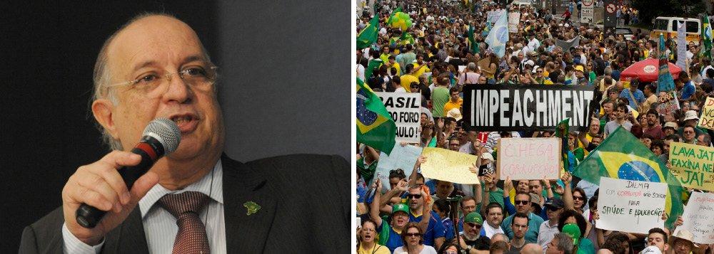"""Analista político Paulo Vannuchi afirmou nesta segunda-feira, 10, que atos pela defesa da estabilidade democrática e do respeito à vontade popular expressada nas eleições do ano passado também estão sendo organizados, como prevê o regime democrático: """"Não é porque o golpe já está em andamento que ele vencerá""""; Para Vannuchi, os protestos contra o governo de Dilma Rousseff, marcados parao próximo domingo, 16, """"juntam o combate à corrupção com posições da mais extrema-direita, fascista, racista, homofóbica"""""""