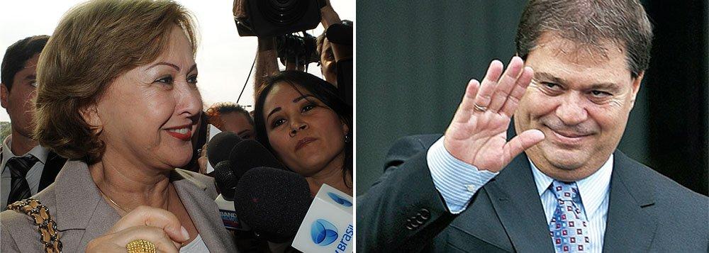 Rumores dizem que mulher do ex-governador Joaquim Roriz não teria disposição para a disputa pelo Palácio do Buriti; a suplência junto a Argello (PTB-DF) é alternativa em cenário de indefinições para a família de políticos