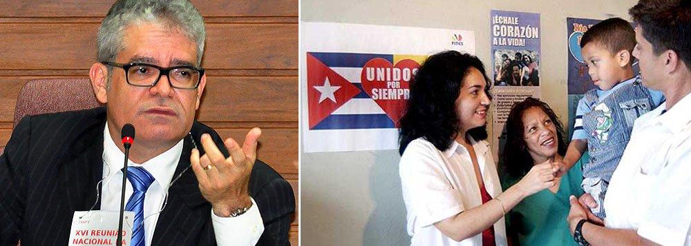 Profissionais de Cuba terão condições trabalhistas diferentes dos demais estrangeiros - a bolsa de R$ 10 mil por mês paga pelo Brasil será repassada ao governo de Cuba. Segundo o procurador José de Lima Ramos Pereira, o órgão terá que 'interferir' e chamar o governo para negociar