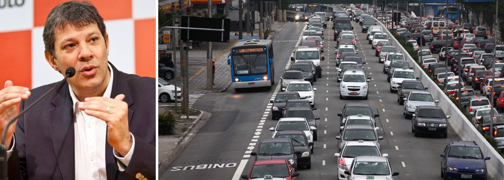 É o que afirma a Prefeitura de São Paulo; em balanço oficial, gestão de Fernando Haddad (PT) também pondera que congestionamentos cresceram menos entre 2012 e 2013 do que entre 2011 e 2012