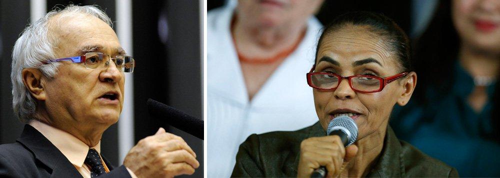 """O deputado federal Fernando Ferro (PT-PE) bateu duro nas contradições da presidenciável Marina Silva; """"Marina virou fetiche. Discurso sem conteúdo nenhum, pasteurizado, maionese"""", disparou; o parlamentar classificou como """"cinismo político"""" por parte da ex-senadora ao dizer que, se for eleita, seu governo terá uma """"nova política""""; para o congressista, o PSB """"apela"""" ao usar no guia eleitoral imagens do ex-governador Eduardo Campos, falecido após acidente de helicóptero em Santos (SP); """"Você tem um morto comandando os vivos"""", disse o petista"""