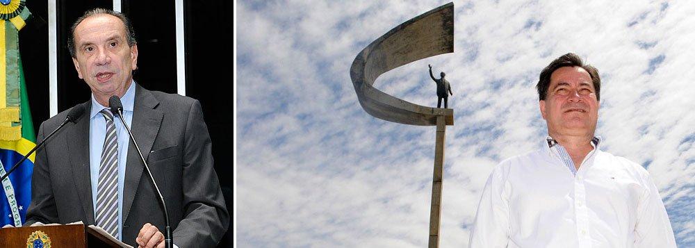 """Senador Aloysio Ferreira (PSDB-SP) cobra explicações do Itamaraty sobre caso Molina e diz que Comissão de Relações Exteriores do Senado não vai aprovar novo embaixador no país; governo brasileiro teria pressionado o senador Roger Pinto Molina, que fugiu ao Brasil, a abrir mão do asilo: """"Eu sabia que a diplomacia no governo Dilma havia perdido sua ambição de protagonismo. Agora percebi que perdeu também a vergonha"""", disse Aloysio"""