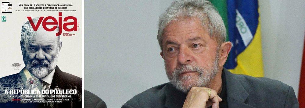 Embora não seja oficialmente investigado pela Operação Lava Jato, o ex-presidente Lula já vem sendo tratado como tal; edição deste fim de semana da revista Veja quebra o sigilo bancário da empresa LILS, responsável pelas palestras de Lula; de acordo com a revista, os dados fazem parte de um relatório do Coaf, em poder da Polícia Federal e da força-tarefa paranaense; nos últimos anos, a empresa de Lula faturou R$ 27 milhões, dos quais cerca de R$ 10 milhões foram pagos por construtoras citadas na Lava Jato; reportagem também aponta até mesmo quanto Lula transferiu a seus filhos, como Lurian, Luis Claudio e Sandro; ontem, o jornal Estado de S. Paulo divulgou um grampo de uma conversa entre Lula e Alexandrino Alencar; hoje, Veja vazou seu sigilo bancário; e amanhã?