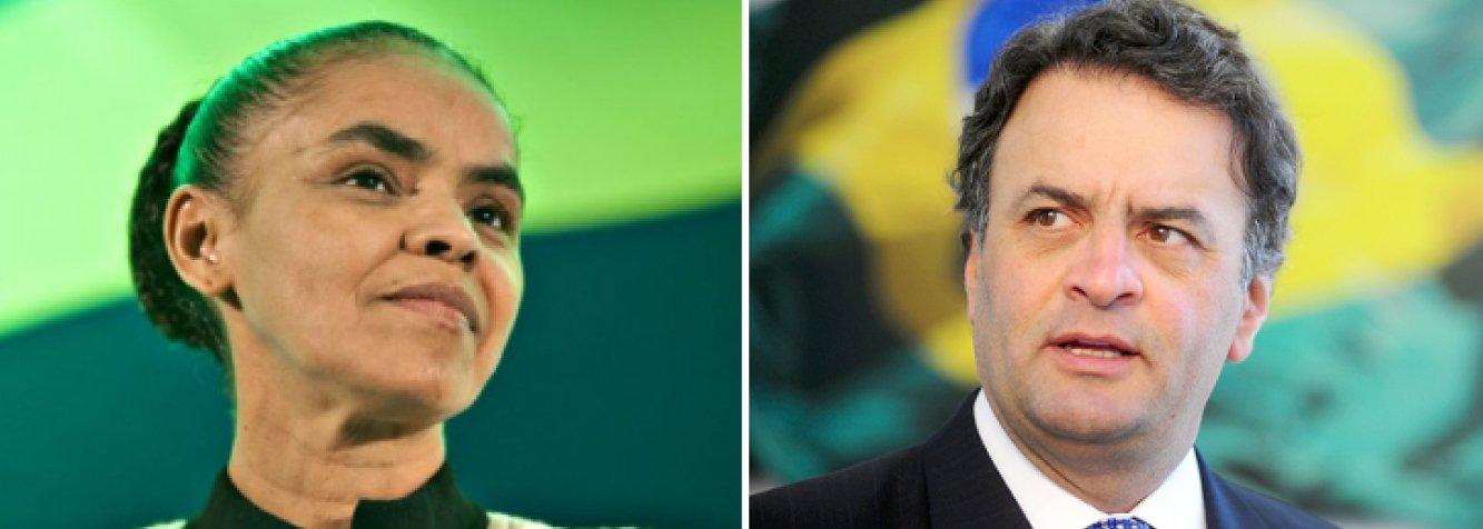 """Com 12 senadores, 53 deputados federais, oito governadores e cerca de 700 prefeitos, o PSDB arrisca-se à """"autodestruição de sua representação política"""" caso seus líderes suspendam o empenho real pela candidatura de Aécio Neves para deixar a caravana de Marina Silva, do PSB, passar; o próprio candidato, que também preside o partido, é o primeiro a perceber que, se baixar suas bandeiras agora, não terá condições de reerguê-las tão cedo, ou até nunca mais; ambiente eleitoral burla discussão racional das propostas em nome do vale tudo para derrotar a presidente Dilma Rousseff e o PT; essa estratégia interessa de verdade aos tucanos?, pergunta jornalista Paulo Moreira Leite; sacrífico de Aécio pode ser o beijo da morte no projeto social-democrata brasileiro"""