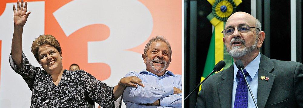 """Senador Donizeti Nogueira (PT) rebateu nesta quinta-feira, 26, na tribuna do Senado, declarações do senador Ataídes Oliveira (PSDB), que disse nessa quinta-feira, 25, que o ex-presidente Lula e a presidente Dilma Rousseff """"deram uma capotada da economia""""; """"Se o presidente Lula deu uma capotada na economia, foi a que tirou o PIB brasileiro de US$ 504 bilhões para levar para a casa dos US$ 2 trilhões. Então foi uma boa capotada porque caímos para frente"""", ironizou; senador petista disse que há umatentativa de indução da população a um cenário de crise"""