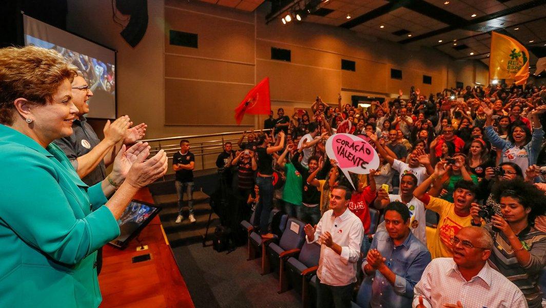 A fala da presidenta é a vitória da política, dos resultados de uma década e de uma visão que, efetivamente, vê nos mais jovens parte da solução para o Brasil continuar mudando