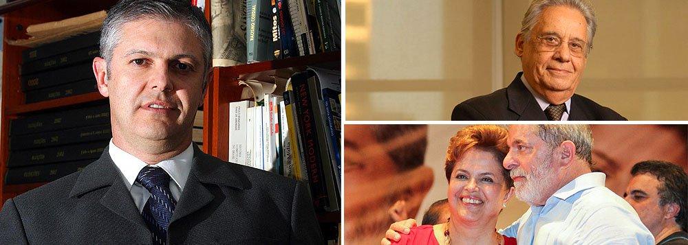 """A um ano das eleições, com 41% de """"ótimo"""" e """"bom"""", ela registra uma pontuação melhor do que FHC (37%) e Lula (28%), um ano antes das eleições, lembra o colunista Fernando Rodrigues, da Folha"""