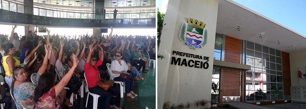 Os trabalhadores educação de Maceió decidiram entrar em greve este Mês; motivo é a data-base da categoria, em janeiro, mas até agora nenhum aumento foi concedido pelo município; a partir da quarta-feira (22) as aulas ficarão suspensas por tempo indeterminado
