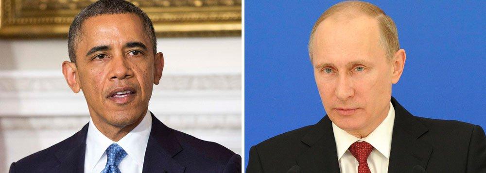 Presidente dos Estados Unidos anunciou nesta quinta-feira sanções contra russos proeminentes, entre eles aliados próximos do presidente Vladimir Putin; Moscou reagiu anunciando suas próprias sanções contra políticos norte-americanos do alto escalão