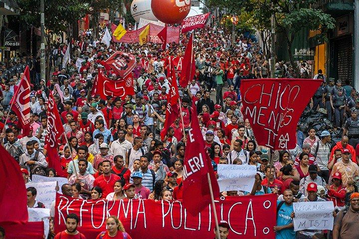 As condições amadurecem para que a união de partidos, centrais sindicais, organizações juvenis, de trabalhadores rurais e personalidades independentes se torne realidade