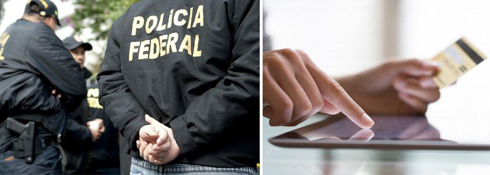 Uma investigação da Polícia Federal, Operação Zumbi, teve continuidade com o cumprimento de cinco mandados de busca e apreensão em Maceió; objetivo é localizar crimes virtuais cometidos contra instituições financeiras em Alagoas